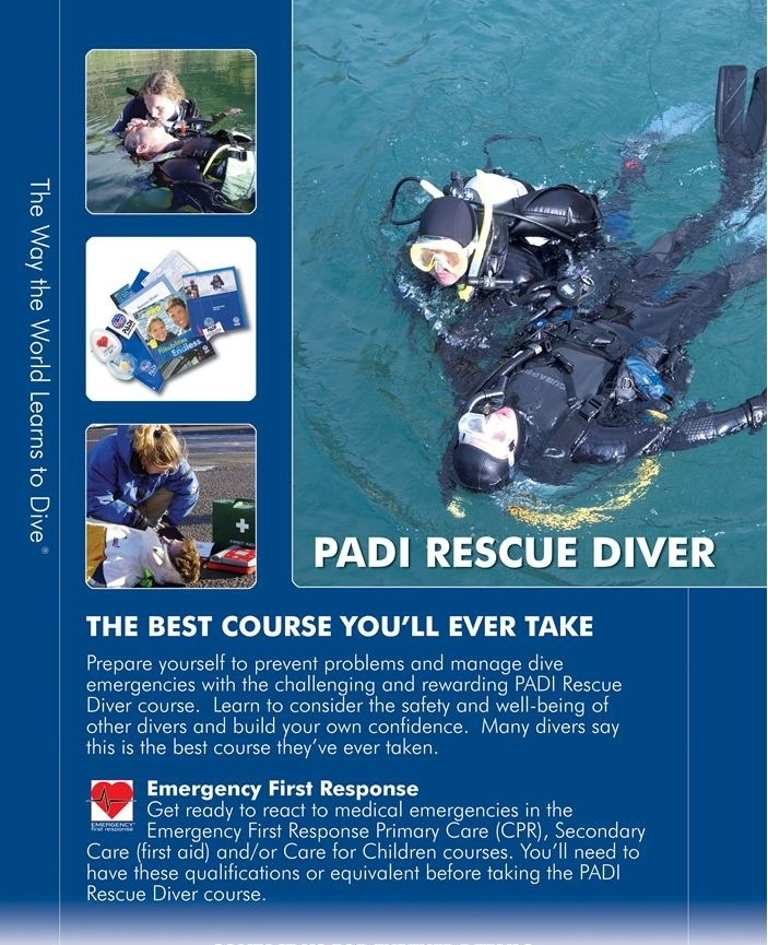 PADI Rescue diver Poster